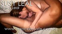 Susy Leal, iniciando um delicioso 69 com um ami...
