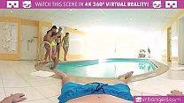 VRBangers.com Five Hot Russian Girls Share One Cock [사우나 sauna]