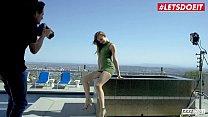 LETSDOEIT - Hot Blonde Influencer Jillian Janson Penthouse Fucked By Photographer