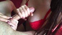 big tit girl giving an awesome edging handjob ⁃ Scooby fucking daphne thumbnail