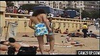 Exibh Blonde Free Public Nudity Porn Video
