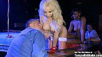 Jasmine Tame XXXMAS Stripper Gangbang porn image