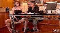 Lucia Love & Zara DuRose Fucking Awesome Kitchen Threesome