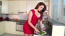 Emma Leigh Vs HUGE Cucumber - Who wins