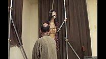 Subtitled bizarre CMNF Japanese nose hook BDSM spanking9-20170505 - 69VClub.Com