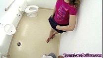 Teen fucks in bathroom Thumbnail