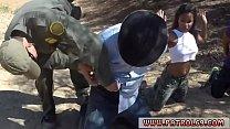 Teen webcam glasses Horny border patrol humps Latin female Loni preview image