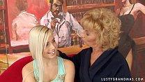 Granny Margarette Having Some Lesbian Sex with ...