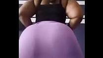 this African fat ass enchants me este culo gord...