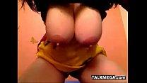 Slut Teasing Her Big Beautiful Breasts