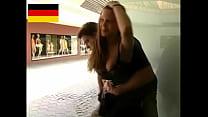 German Teen fucks in the public