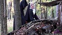 smoking nun fucked by devil thumbnail