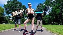 BUMS BUS - Seductive Austrian blonde Mila Milan... Thumbnail