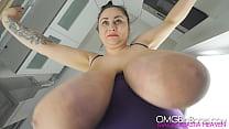 Slow motion swinging huge boobs 1080p & bohemianbabe webcam thumbnail