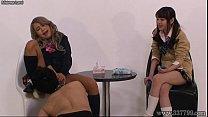 Japanese Femdom Spitting And Ballbusting