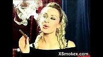 Marvelous Girl Smoking Wild Porno