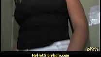Hot Wild Girl Blows A Stranger In A Gloryhole 18