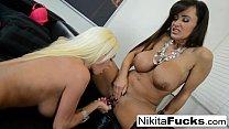 Hot Russian Nikita Von James fucks porn legen Lisa Ann pornhub video