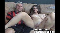 Tall natural big tittied Karina White Squirts f...