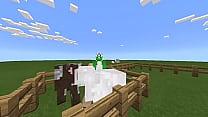 Chamei a ovelha gostosa pra vir assistir filme com a galinha e a vaca da amiga dela. Só que ela pediu pra eu bater nela só que eu bati tão forte que matei ela preview image