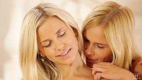 Dido Angel and Noleta Licking Shaved Pussies - EroticVideosHD.com pornhub video
