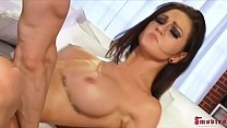 Big Tittied Teen Pornstar Gets Cummed