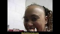 Cute Amateur Black Girl Sucks off Big White Dong 15 Thumbnail