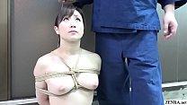 BDSM JAV Yuu Kawakami CMNF Nose Hook Blowjob