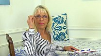 UK milf Lady Sextasy rather masturbates than do...