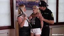 Milf Cop Kathia Nobili Double Bangs Horny Hooke...