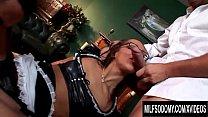 Sabrina Sweet taking anal in threesome