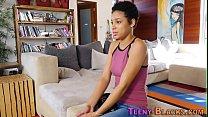 Ebony teen pussy pounded thumbnail