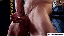 Muscular amateur hunk pleasures himself />                             <span class=