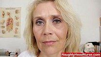 Blonde curvicious mature nurse video