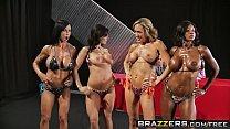 Brazzers - (Brandi Love, Diamond Jackson, Jewels Jade, Kendra Lust, Bill Bailey, Johnny Sins) - Miss Titness America Preview