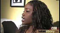 Ebony Slut Gets An Interracial Group Sex 9
