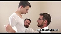 Young Church Boy Pounds Old Hairy Asshole - MORMON-BOYZ.COM