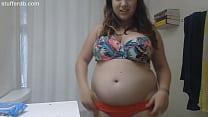 Sexy chubby bikini body! video