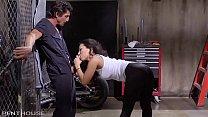 Asa Akira craves Tommy Gunn's expert service. thumbnail