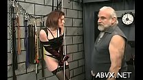 Big beautiful woman babe severe stimulation in ...