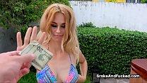Screenshot Broke Bikini Bi g Tit Blows Big Dick Outdoors  Dick Outdoors