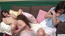 JAV friend wches lesbian sex followed by blowjob Subtitled - 9Club.Top
