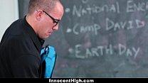 InnocentHigh - Hot MILF Teacher Fucks Student - 9Club.Top