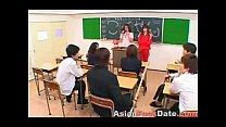 Japanese Schoolgirls Orgy