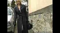 Blonde MILF In Lingerie Fucked Thumbnail