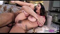 Massive Tits Brunette 08