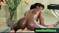 Hot japanesse in sensual nuru massage 14