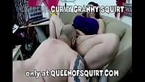 Extremer Kurvig Granny Squirt Vorschau