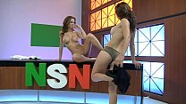 Emily Addison & Heather Vandeven - Naked News