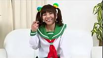 Japanese Lolita In School Uniform Gets Shaved
